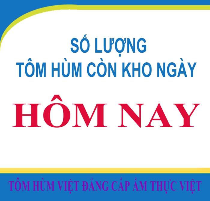 TÔM HÙM CÒN KHO NGÀY 18-01-2020